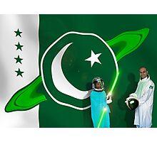 The Brave Men & Women Heroes of the Pakistani Starfleet Photographic Print