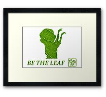 The Legend of Korra : Be The Leaf Framed Print