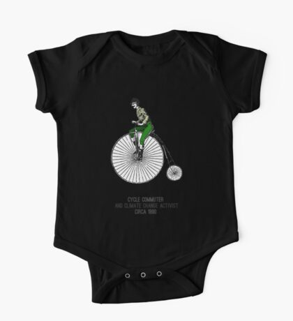 Climate change commuter One Piece - Short Sleeve