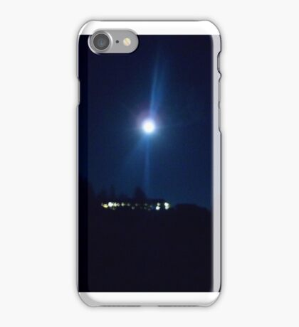 And The Moon Spoke To Me iPhone Case/Skin