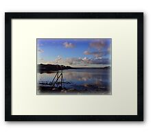 Reflections of Instow  Framed Print