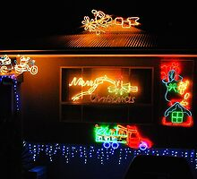 Merry Christmas Lights by Penny Smith