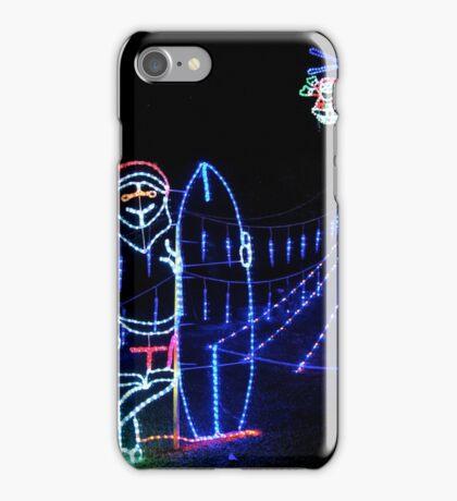 Surfing Santa iPhone Case/Skin