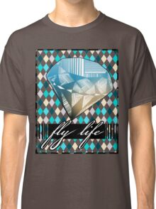 Diamond over diamonds (BLUE) Classic T-Shirt