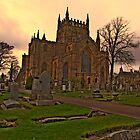 Dunfermline Abbey by davey lennox