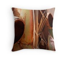 Empty Eyes Throw Pillow