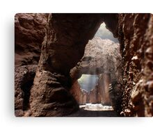 Doors of the Valley Canvas Print