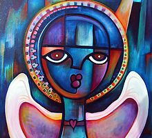 Cosmic Angel by Makeba Kedem-DuBose