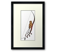Archery Bird Framed Print