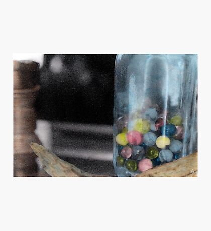 Trying to Keep My Marbles Photographic Print