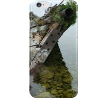 Tobermory shipwreck iPhone Case/Skin