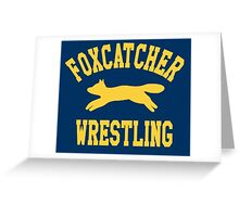 Foxcatcher Sweater Greeting Card