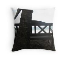 Sit down....relax Throw Pillow