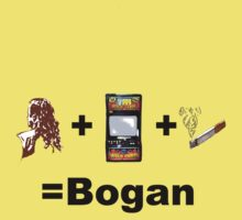Mullet+Pokies+Smokes=Bogans by Michelle Walker