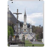 Shrine Lourdes France iPad Case/Skin