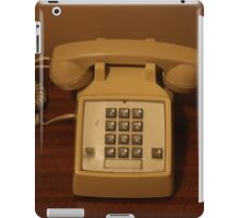 Vintage Retro Telephone iPad Case/Skin