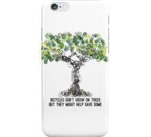 Bike Tree iPhone Case/Skin