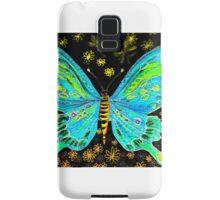 fairy butterfly (green) Samsung Galaxy Case/Skin