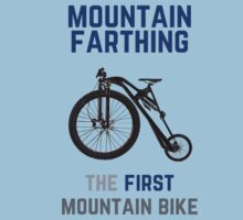 The First Mountain Bike: the mountain farthing Kids Clothes
