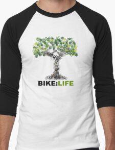 BIKE:LIFE tree Men's Baseball ¾ T-Shirt
