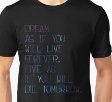 Dream as... Unisex T-Shirt