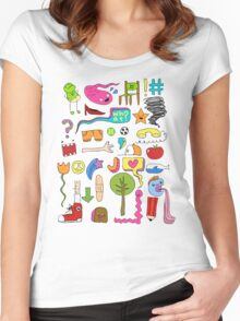 busy Women's Fitted Scoop T-Shirt