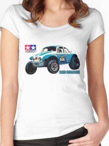 58016 Sand Scorcher Women's Fitted Scoop T-Shirt