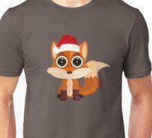 Christmas Fox Unisex T-Shirt