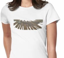 Camels Motif 1 Womens Fitted T-Shirt