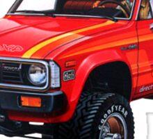 58028 Toyota 4x4 Pickup Sticker