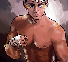dolph lundgren with sparkles by grubsludge