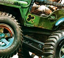 58035 Wild Willy Sticker