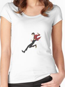lupin Women's Fitted Scoop T-Shirt