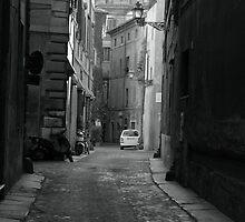 Roman Alleyway by MondoStef