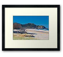 Hang Gliders Over Cape Byron Framed Print