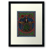 Hedgewitch Pentagram Framed Print
