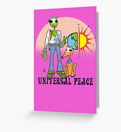 universal love Greeting Card
