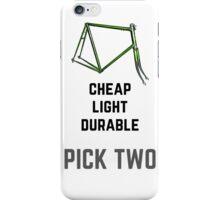 Bike Parts Roadie in BLACK iPhone Case/Skin