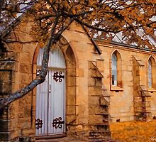 Convict  Built Church 1873 by wallarooimages