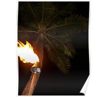 Waikiki Torchlight Poster