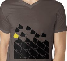 Building Blocks Mens V-Neck T-Shirt