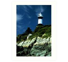 Donegal lighthouse Art Print