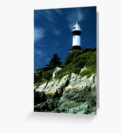 Donegal lighthouse Greeting Card