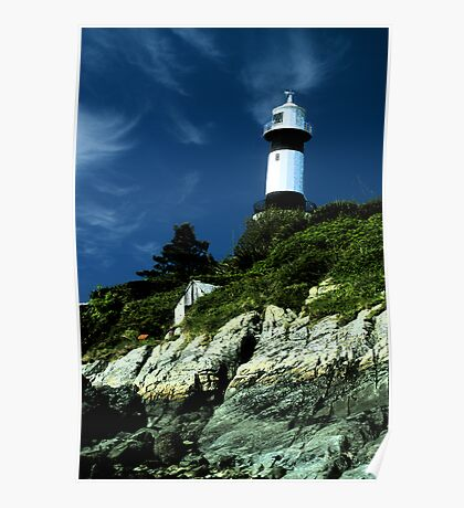Donegal lighthouse Poster