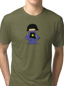 Japanese Girl With Star Tri-blend T-Shirt