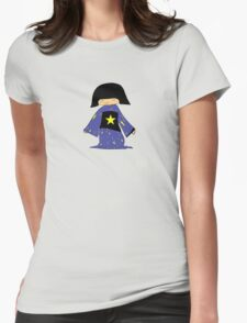 Japanese Girl With Star Womens Fitted T-Shirt