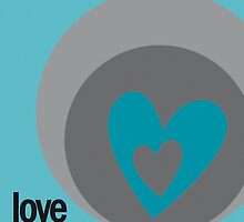 LOVE 2 by Micheline Kanzy