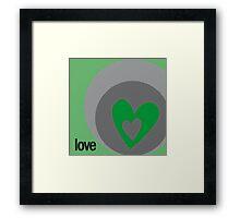 LOVE 4 Framed Print