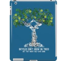 Bike Tree (white) iPad Case/Skin