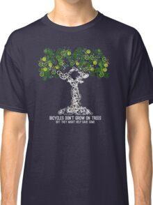 Bike Tree (white) Classic T-Shirt